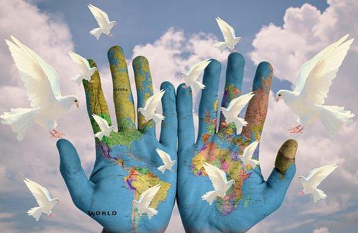 World, Harmony, Continents, Earth, Hope