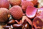 lychee, exotic, fruit