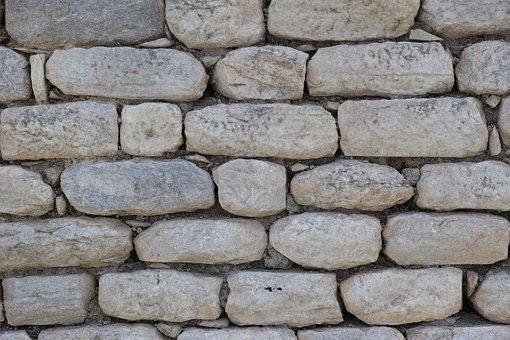 Stone, Wall, Concrete, Gray Wall