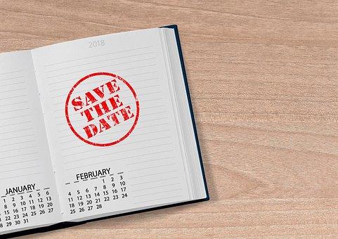 Kalender, Buch, 2018, Datum, Jahr, Tag