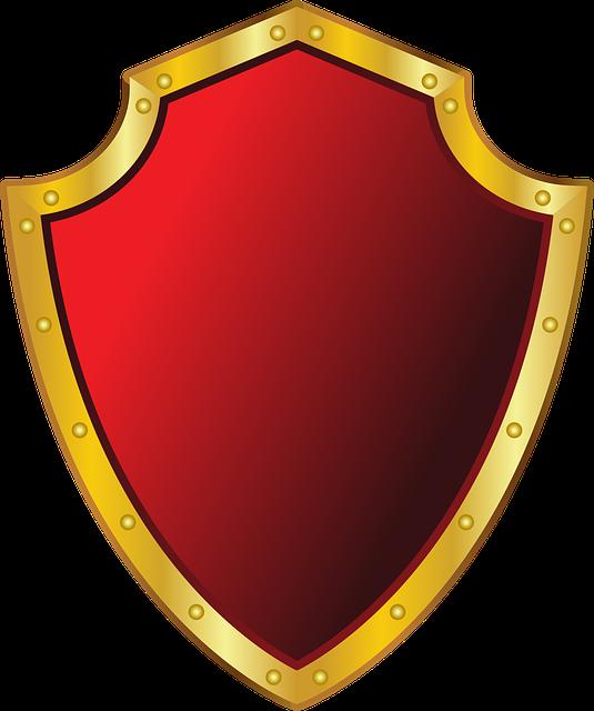 Shield Metallic Badge · Free vector graphic on Pixabay