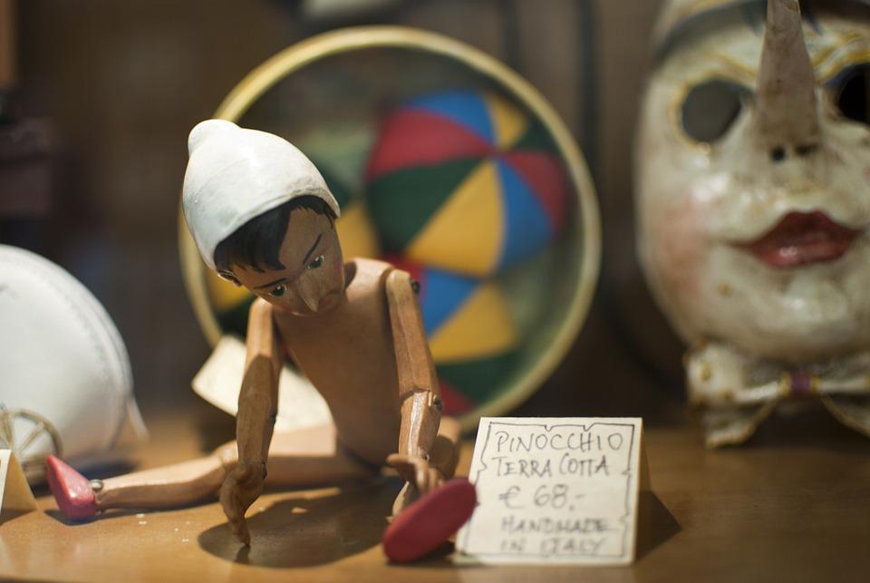 Pinocchio, Giocattolo, Balocchi, Favole, Collodi