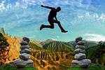 risk, courage, balance
