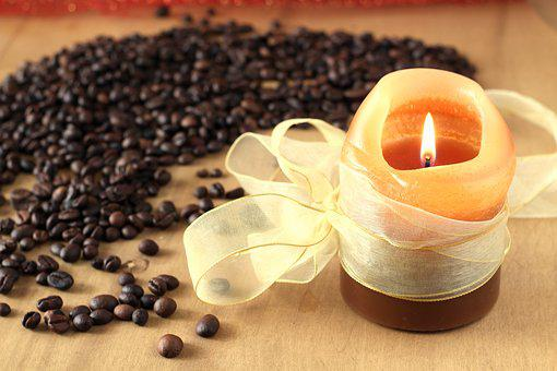 Kerze, Aroma Kaffee, Kaffee, Licht