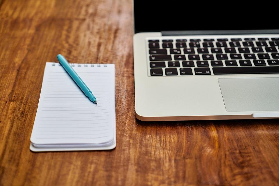 Notă, Notebook-Uri, Stilou, Laptop, Calculator, Articol