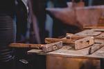 wood, old, hammer