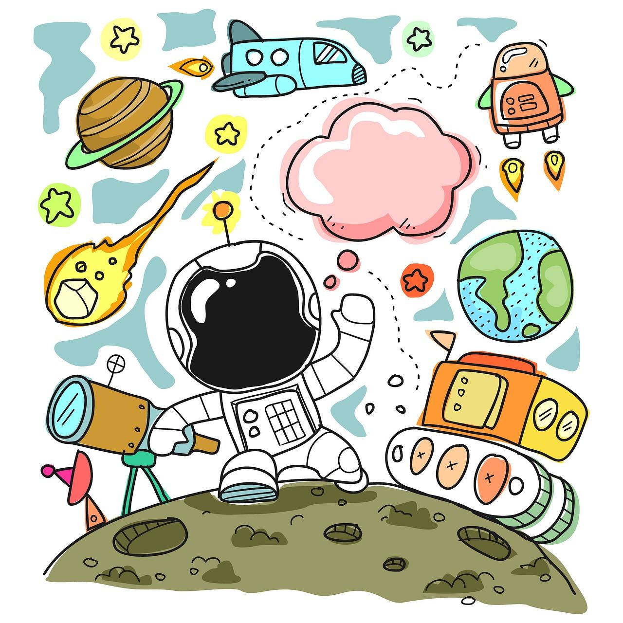 Sketch Cute Child Free Image On Pixabay