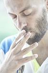 male, cigarette, smoke