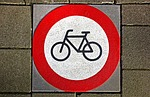 bicycle, sign