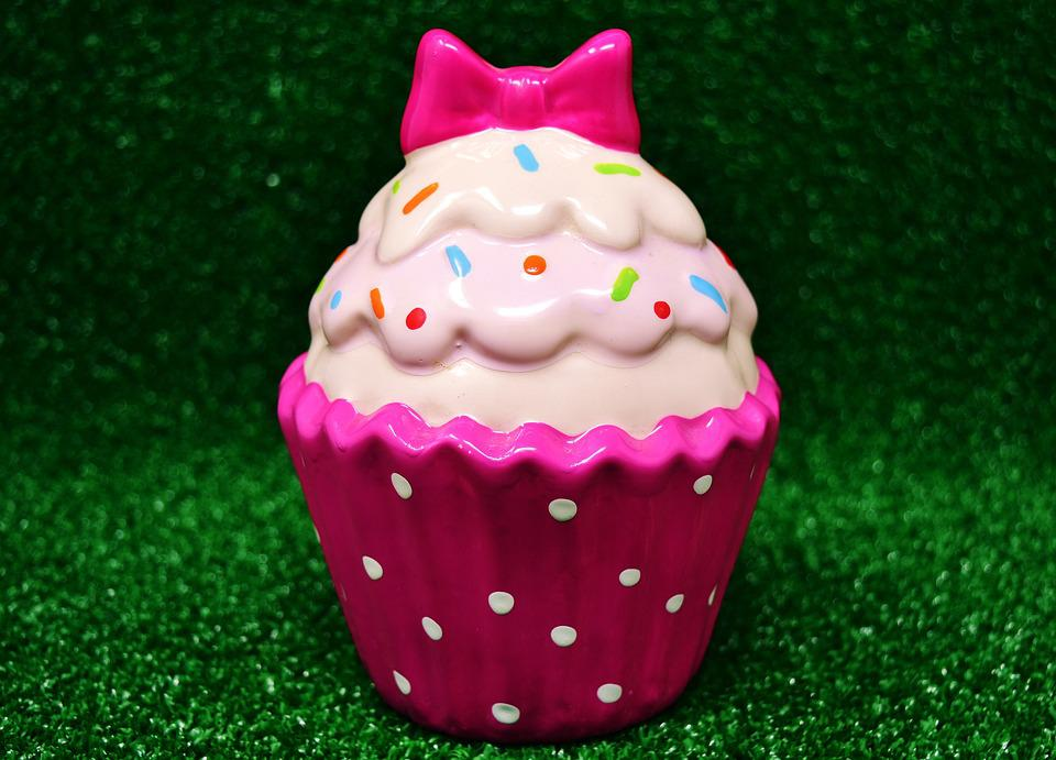 Cupcake In Ceramica.Cupcake Ceramic Dessert Free Photo On Pixabay