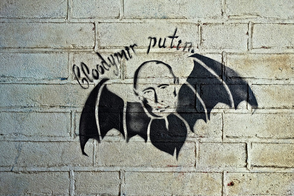 Satire nyheter handler veldig ofte om velkjente statsoverhoder som Vladimir Putin.
