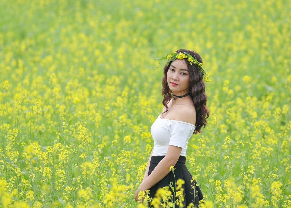 flower reform yellow girl free photo on pixabay