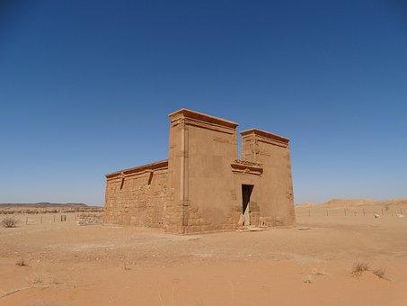 Khartoum, Meroe, Desert, Archaeology