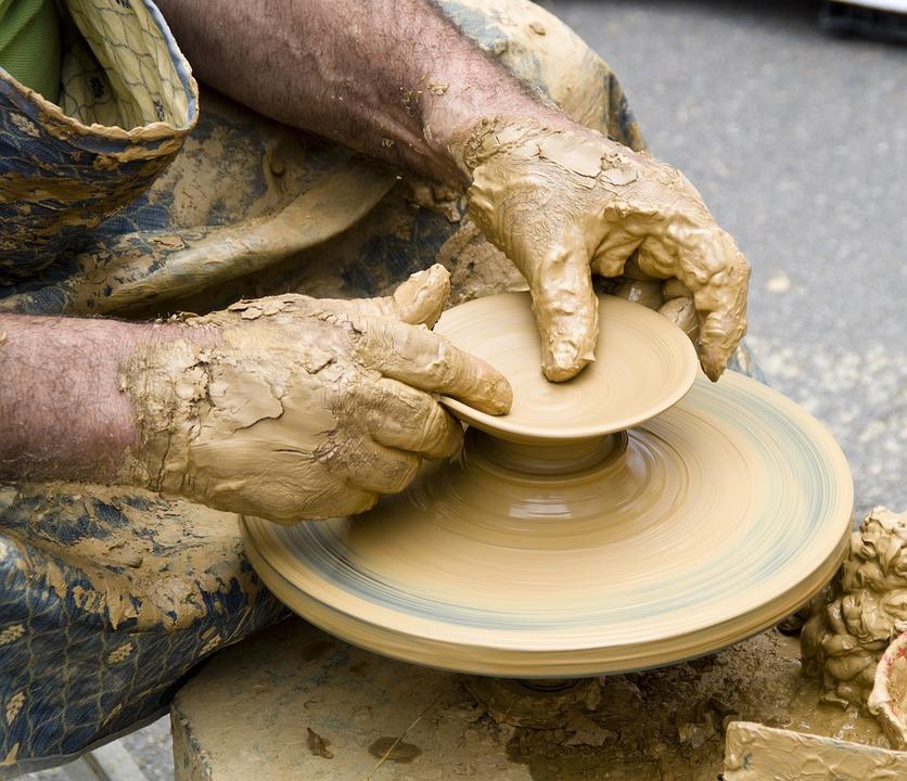 Céramique, Argile, Poterie, Art, Vieux, Sculpture