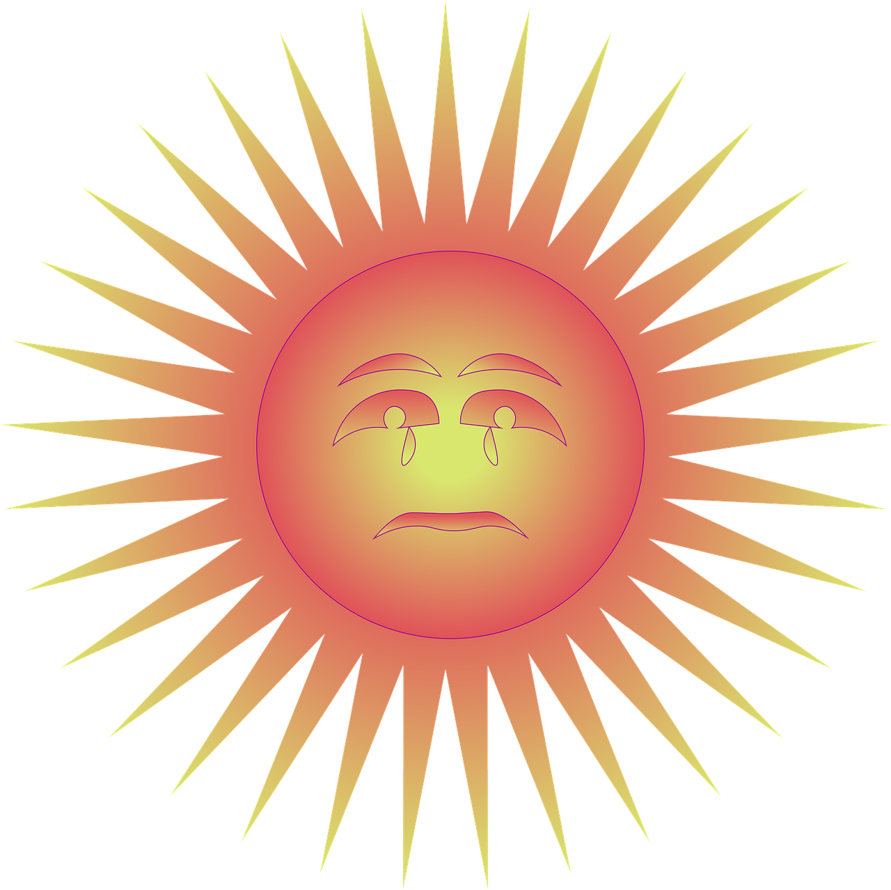 Картинки лицо солнца