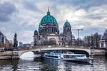 berlin, river, sky