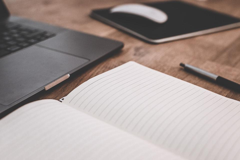Paper Book Laptop Free Photo On Pixabay