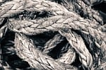 rope, knot, string
