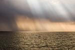 sea, hazy, fogy