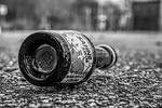 new year's eve, celebrate, garbage