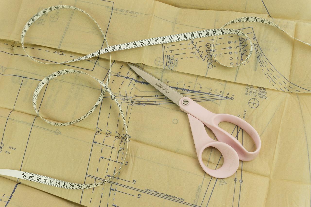 The Formula Sewing Scissors Tape - Free photo on Pixabay