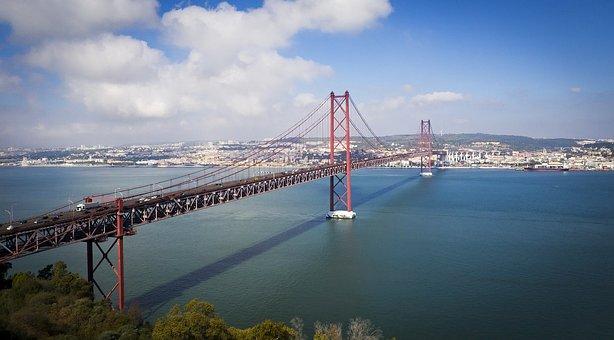 Lisboa, Ponte 25 De Abril, Lisboa Puente