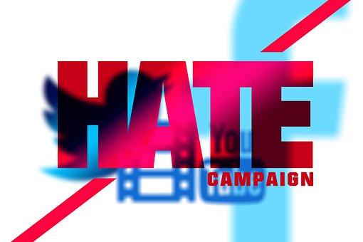 憎悪, 犯罪, キャンペーン, さえずり, Facebook, Youtube