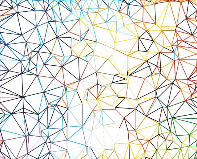 Tessellation with Hexagon Triangle and Square coloring