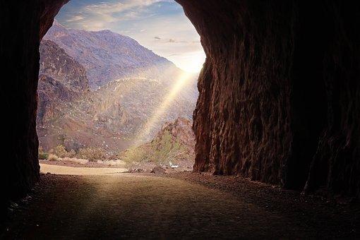 鉄道, ハイキング, トンネル, フーバー ・ ダム, ミード湖, ラスベガス