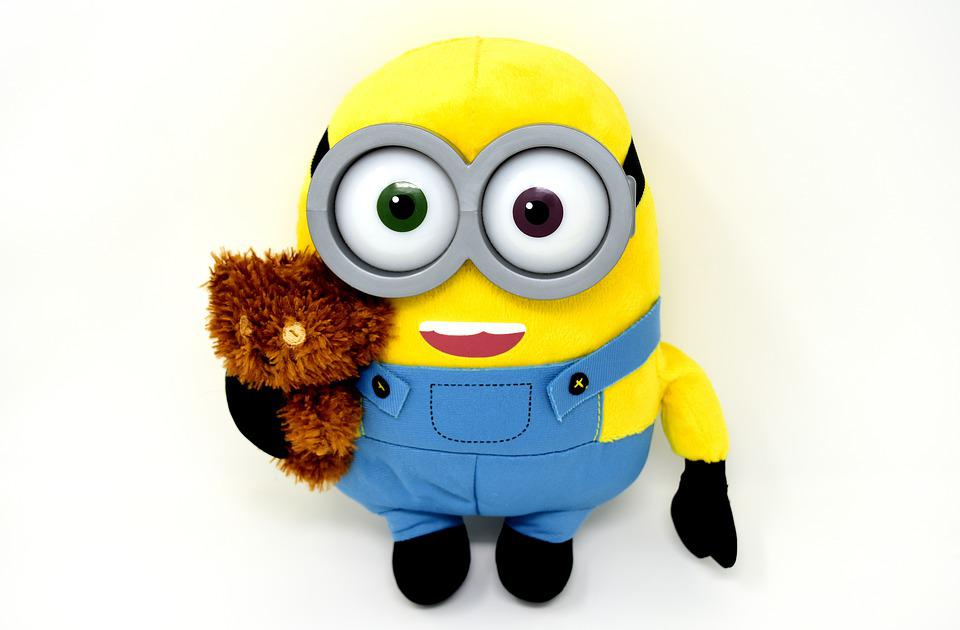 Minion, Teddy, Funny, Soft Toy, Figure