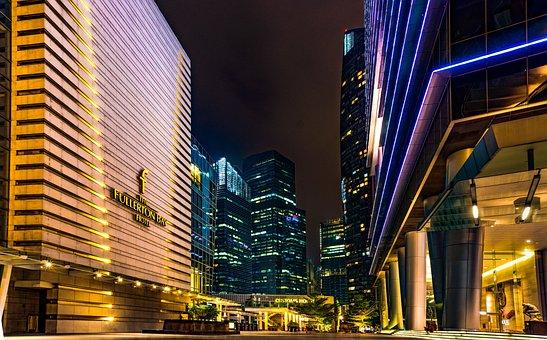 アーキテクチャ, 超高層ビル, 市, 近代的な, ダウンタウン, 都市の景観