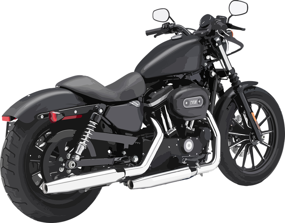Motorcycle Mini Moto The Vehicle Transport Chrome