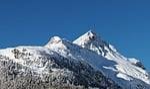 snow, mountain