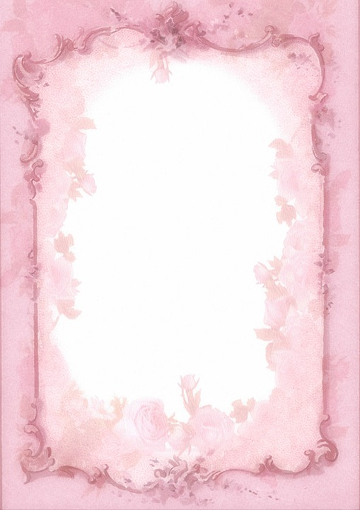 Background Shabby Chic Retro Paper Picture Frame