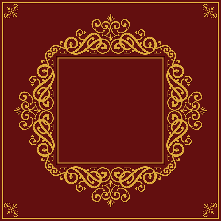 Ornate Picture Frame Decoration · Free vector graphic on Pixabay