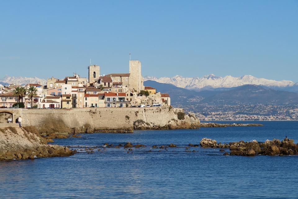 Antibes Côte D Azur Fort Kostenloses Foto Auf Pixabay