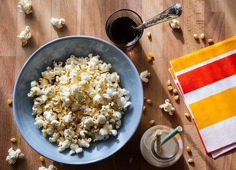 Food, Popcorn, Aperitif
