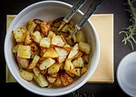 food, meal, potatoes