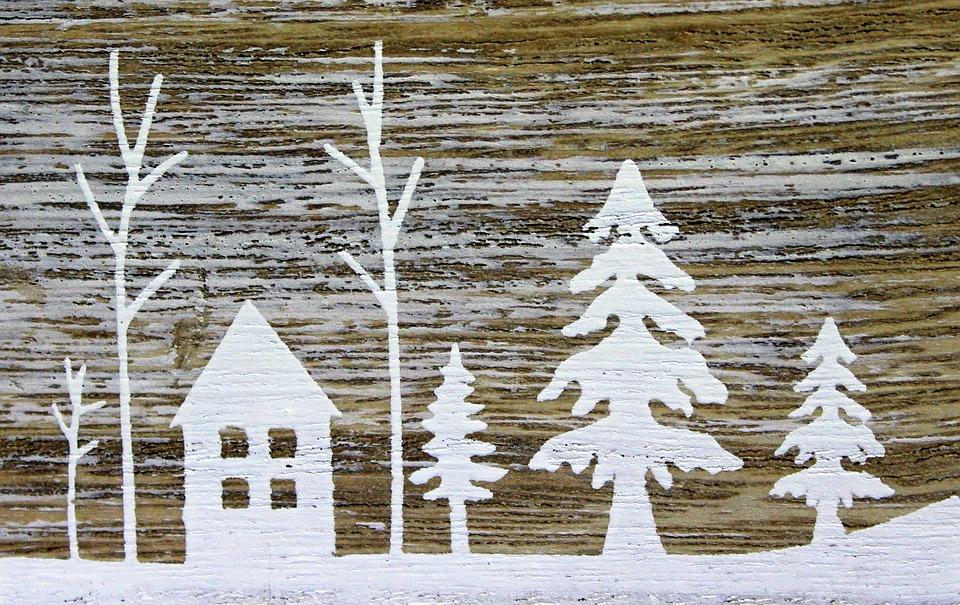 Kış Kar Boyama Pixabayde ücretsiz Fotoğraf