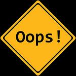 error, panel