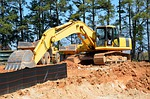 scoop, bulldozer, shovel