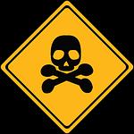 danger, toxic, panel
