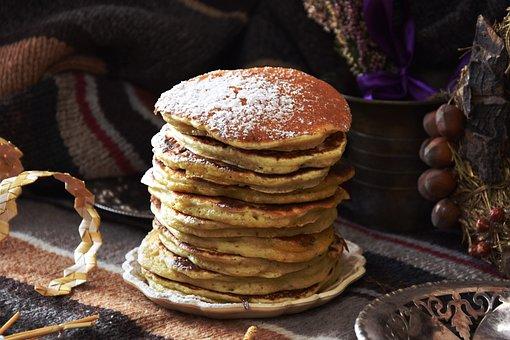 Eating, Pancake, Food, Sweet Dish