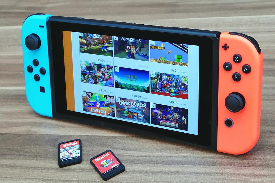 Nintendo Switch, Nintendo, Console, Game, Video, Play