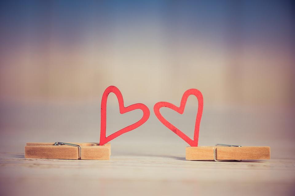 バレンタイン, 心, 愛, ハートの形, 甘い, ロマンチックな, バック グラウンド, 愛の心, 恋愛中です