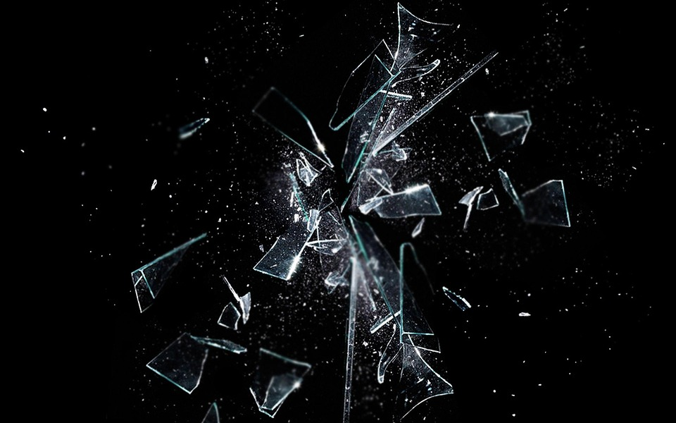 Dark, Black, Background, Glass, Shatter, Broken, Mirror