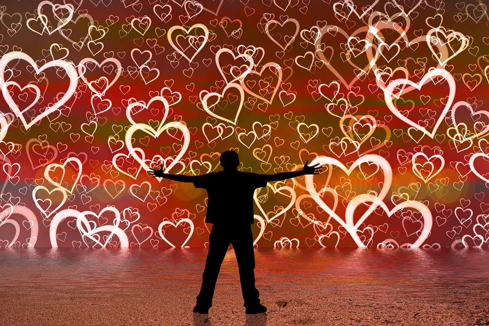 Heart, Love, Hug, Person, Man, Poor, Spread, Embrace