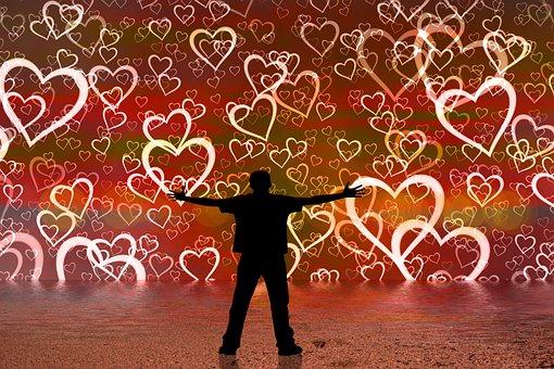 Heart, Love, Hug, Person, Man, Poor