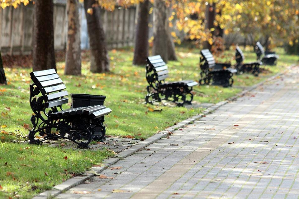 Park Bänke Herbst · Kostenloses Foto auf Pixabay