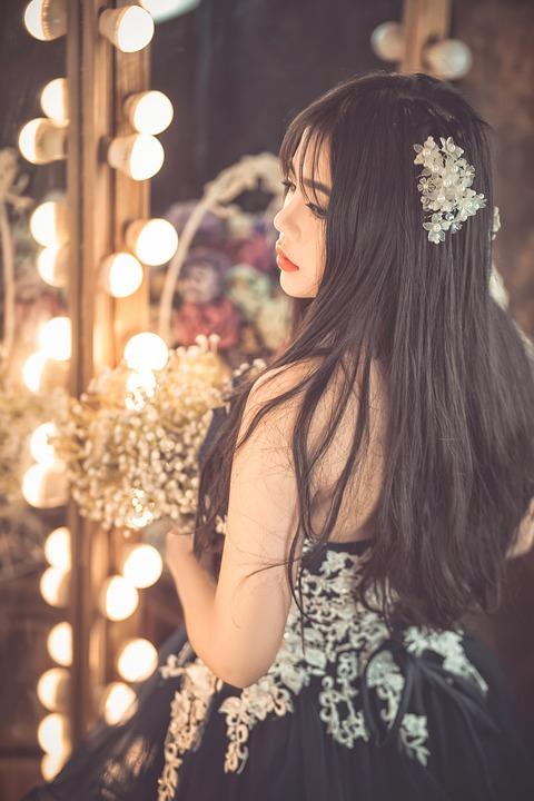 vakre jenter kjoler for voksne kvinner